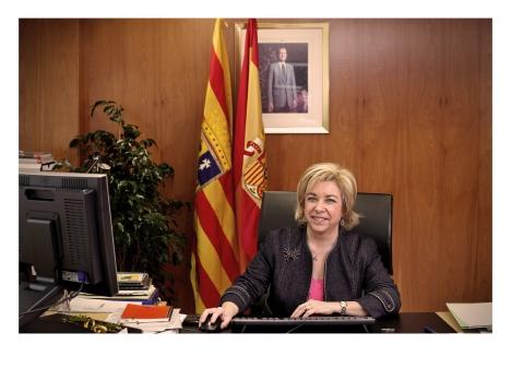 Foto oficial en el despacho