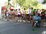 Joaquín Pacheco y el resto de corredores en la salida