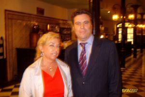 Con Jesús Zamora