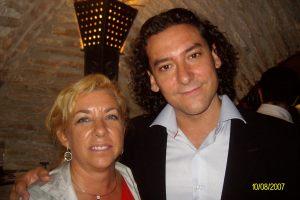Con Augusto González