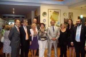 Con Manuel Medrano,Cristina Galindo y demás amigos