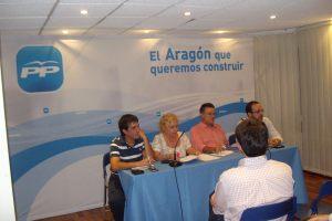Con Humberto Vadillo, José María Salinas y Eduardo Peris