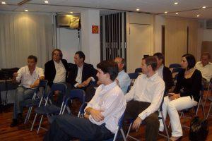 Los asistentes a la reunión