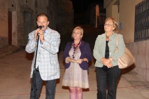 acompañada por el Alcalde Gonzalo y mi compañera de corporación municipal Mercedes Galindo.