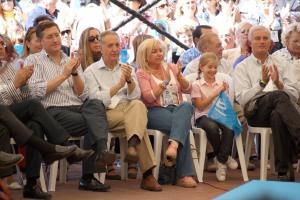 Durante la intervención de Mariano Rajoy