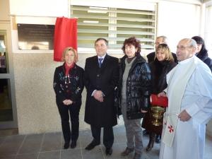 Inauguración Colegio Ontiñena