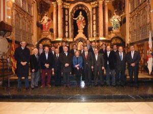 Foto de Familia con la Asociación para el Estudio de la Semana Santa